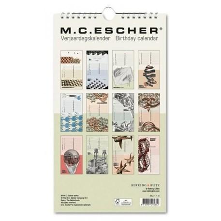 Verjaardagskalender Escher
