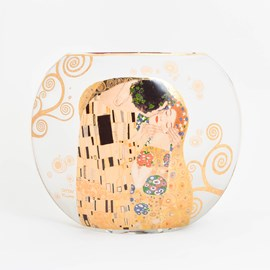 Glazen Tafellamp Klimt 'De Kus'
