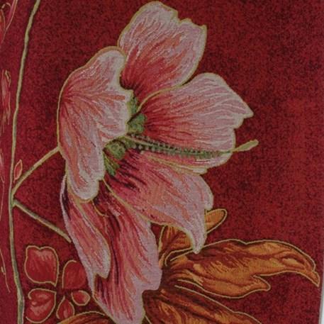 Detail Wandkleed Altea in paarstinten