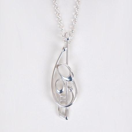 Sterling zilveren Collier Margaret