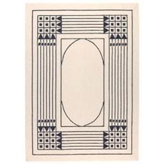 Geometrisch Art Nouveau Tapijt 1903 Wien