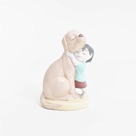 Sculptuur Puppy Love