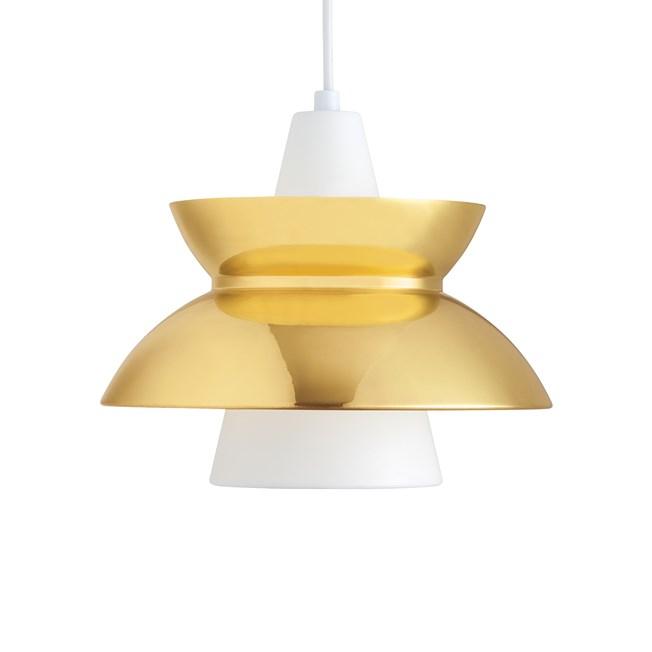Louis Poulsen Doo-Wop Hanglamp Brass