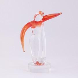 Glassculptuur Dynamic
