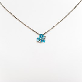 Collier Aquabloem