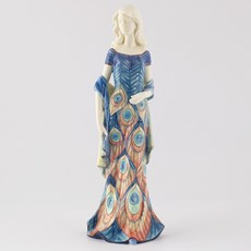 Sculptuur Lady Peacock