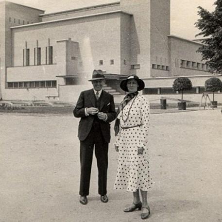 Foto uit het boek W.M. Dudok