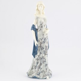 Sculptuur Lady in Blue