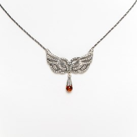 Collier Wings Amber