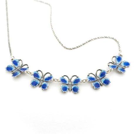 Collier Yasmin Emaille