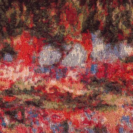 Detail Wandtapijt Irissen in de tuin van Monet