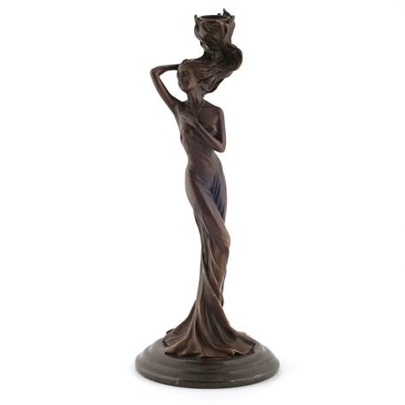 Kandelaar / Sculptuur De Overgave