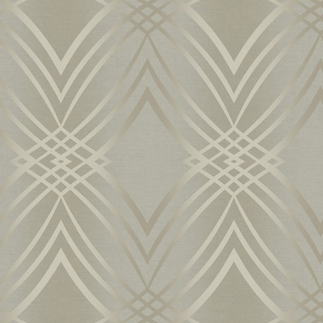 Behang Glamour Taupe