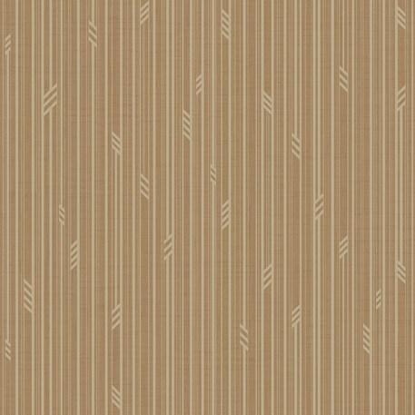 Behang Geo Stripe in Bruin