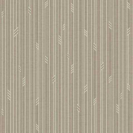 Behang Geo Stripe in Taupe