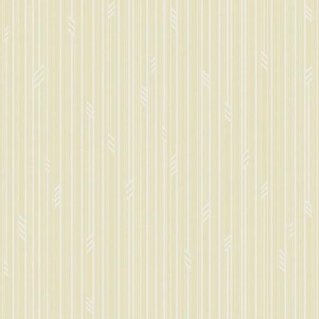 Behang Geo Stripe in Crème