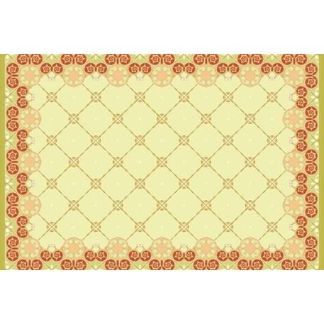 Placemat Blok Art Nouveau