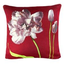 Kussen Purple Tulips