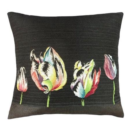 Achterzijde Kussen Colourful Tulip