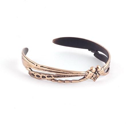 Armband Libelle Love Brons