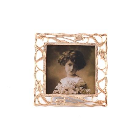 Fotolijst Tulpen in Crème 10x10 cm