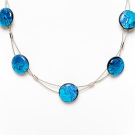 Collier Midnight Sky Blauw/Lila
