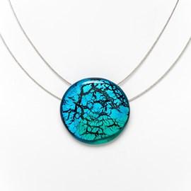 Collier Midnight Moon Aqua/Turquoise