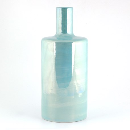 Cilindervaas Luster Turquoise