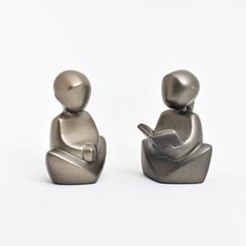 Sculptuur Set Reading & Listening
