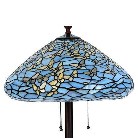 Detail Tiffany Vloerlamp Fly Away