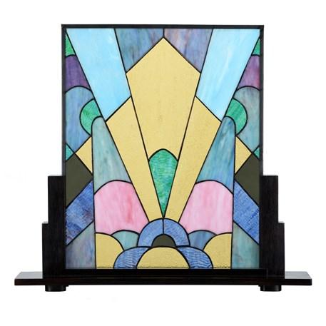 Coloured Art Deco Tiffany Paneel