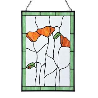 voorbeeld van een van onze Raamdecoraties