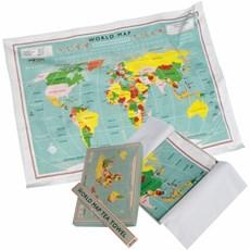 Theedoek World Map