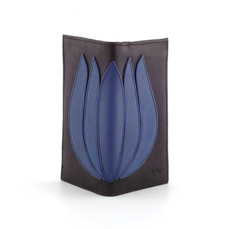 Portemonnee Tulip Rechthoekig Cobalt