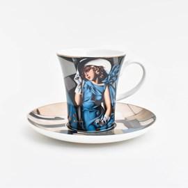 Espressokop en schotel | Tamara de Lempicka