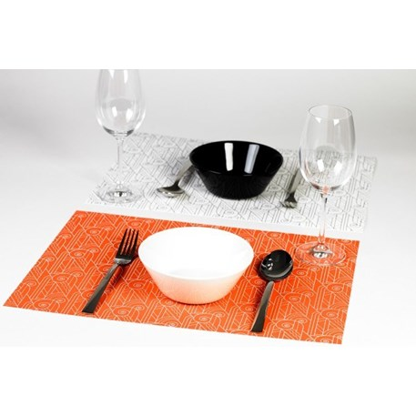 Placemat Blok Art Deco