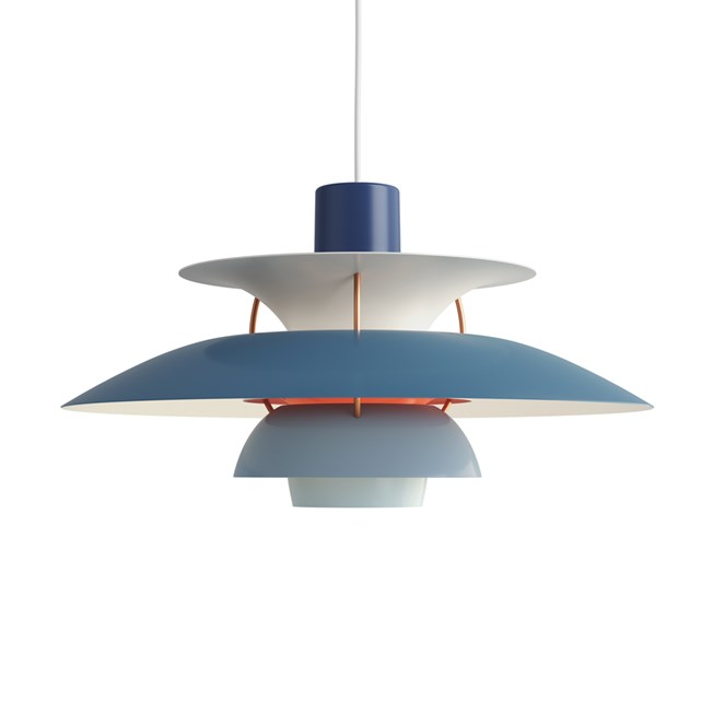 Louis Poulsen PH 5 Hanglamp Blue
