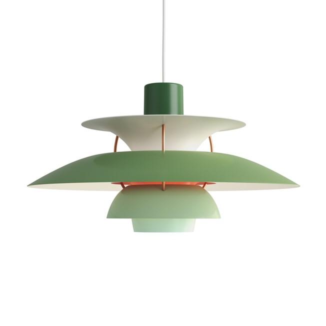 Louis Poulsen PH 5 Hanglamp Green