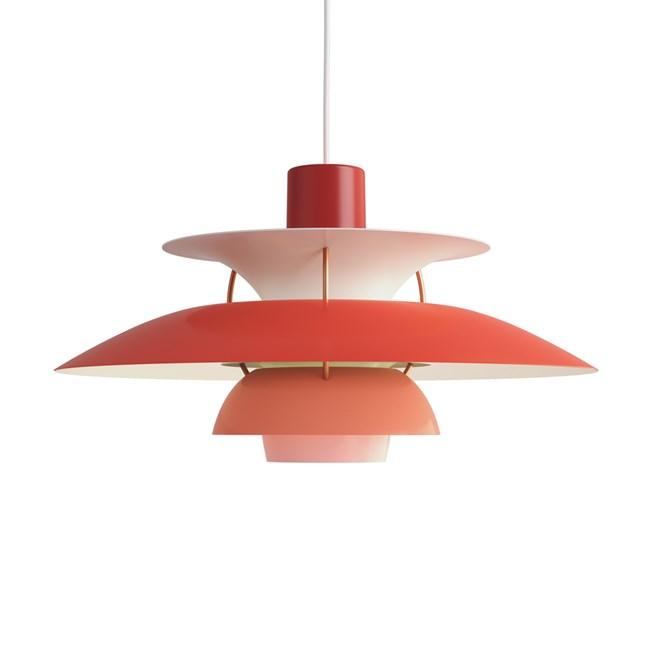Louis Poulsen PH 5 Hanglamp Red