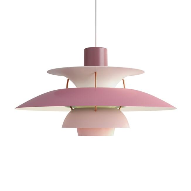 Louis Poulsen PH 5 Hanglamp Rose