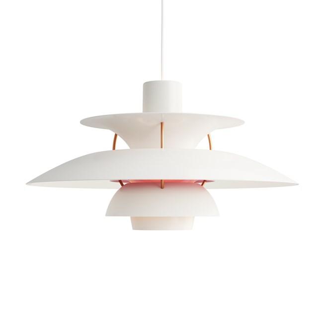 Louis Poulsen PH 5 Hanglamp Modern White