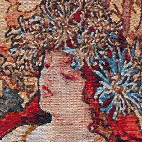 Detail Wandkleed De Vier Jaargetijden Herfst