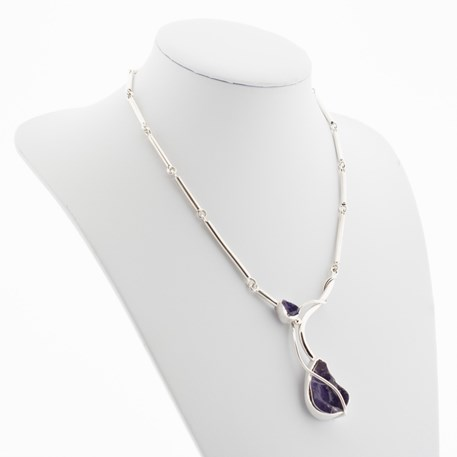 Collier Purple Rock