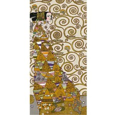 Wandkleed/Gobelin Klimt De Verwachting Licht