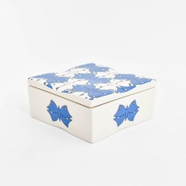 Keramieken Doosje Vlinders Escher