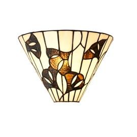 Tiffany Wandlamp Ginkgo Leaf