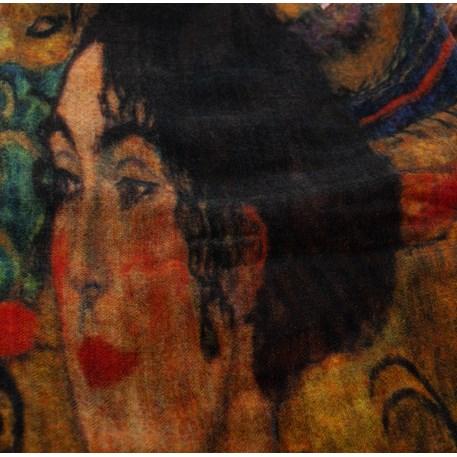 Het portret in de stof.