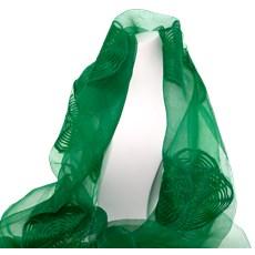 Sjaal Groene Zijde