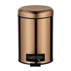 Pedaalemmer koper metallic | 3 liter