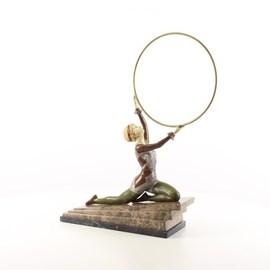 Bronzen sculptuur Hula
